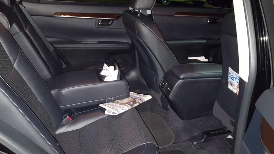 Corporate Sedan Interior